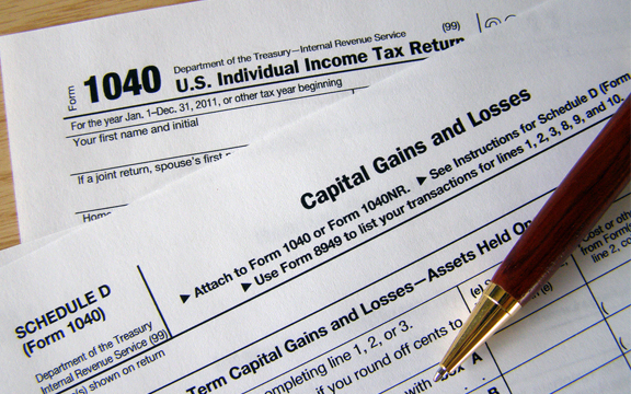 Capital Gain taxes.
